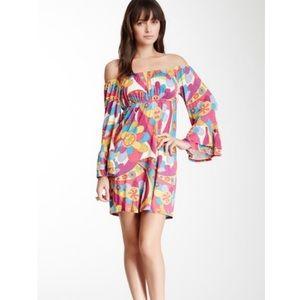Voom by Joy Han off the shoulder mod dress